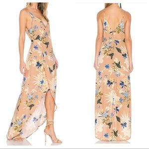 NWT ASTR the Label Floral Wrap Dress